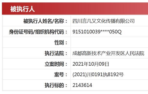 中国执行信息公开网截图